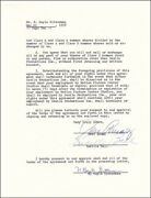 Lucille Lucy Ball - Contract Signed 05/22/1958 Co-signed By Desi Arnaz Sr.