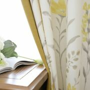 Floral Curtains Woven General Pleat Window Treatments Yarn Dyed Blackout Curtain