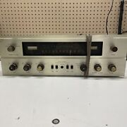 The Fisher 500c 500-c Multiplex Fm Stereo Tube Receiver For Parts / Repair