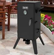 Vertical Electric Wet Smoker Outdoor Cooker Bbq Patio Barbecue Wood Chip Grill