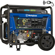 Westinghouse 12500-w Portable Dual Fuel Gas Powered Generator With Remote Start