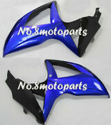 New Blue Black Fit For Gsxr 600 750 K8 2008-2010 Left Right Side Fairings A36