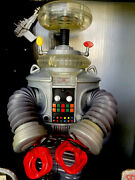 Lost In Space Robot B-9 Nrfb Sound And Lights 1997 Collectors Ed. Trendmasters