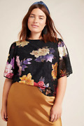 164 Anthropologie  Genevieve Lace Top Size 3x