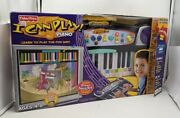 Fisher Price I Can Play Piano Wizard Learning Read Music Tv Plug And Play Age 4+