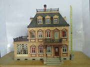 Playmobil 5300 Victorian Mansion Dollhouse W Ice Cream Parlor And Lots Of Extras