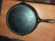 Griswold Large Block 8 Inch Cast Iron Vintage Collectable Skillet With Heat Ring