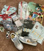 Size 9.5 - Nike Sb Dunk Low X Sean Cliver Holiday Special 2020 Lot