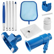 7in1 Pool Vacuum Cleaning Kit Vacuum Cleaner Pool Skimmer Net For Above Ground