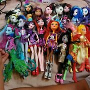 Huge Monster High Doll Lot And More