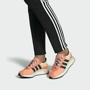 Adidas Sl Andridge Womenand039s Size 7 Fashion Shoes Chalk Coral/indigo/yellow Ef5549