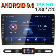 Android 9.0 Car Stereo Radio Gps Navi Mp5 Player Double 2din Wifi Quad Core +cam