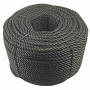 40mm Synthetic Black Decking Rope X 175m Decorative Garden Rope Balustrade