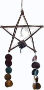Gift Ko Solar Christmas Parol Bamboo Star 15 Inch Colored Tails Led Fairy Lights