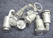 New Door Trunk Glove And Ignition Locks With Gm Keys Chevy Impala Full Size 1964