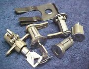 Nos Door Ignition Trunk And Glove Locks All Keyed Alike Galaxie 1962 1963