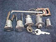 New Door Trunk Glove And Ignition Locks And Gm Keys Buick 1955 1956 Keyed Alike