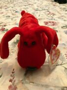 Rare Retired Ty Beanie Baby And039roverand039 With Many Errors Mint