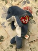 Rare Retired Ty Beanie Baby And039echoand039 With Many Errors Mint
