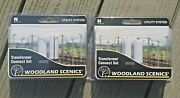 2 Woodlands Scenics 1/160 N Scale Pre-wired Transformer Connect Set 2 Pk 2252 Fs
