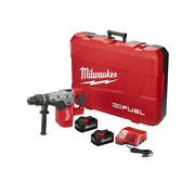 Milwaukee 2717-22hd M18 Fuel 1-9/16 Sds Max Rotary Hammer Kit With 2 Batteries