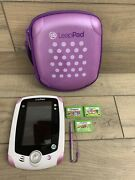 Leapfrog Learning Game System Leappad With Case, Stylus And Games