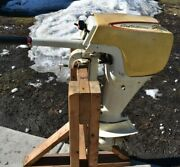 Vintage Sears Ted Williams 7.5 Hp Outboard Motor Compression