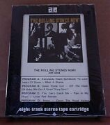 Rare Sealed Vintage 8 Track Tape The Rolling Stones Now Abkco- A8t-4204 Beatles