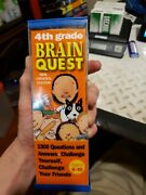 Brain Quest 1,500 Questions And Answers, Challenge Yourself 4th Grade Updated Ed