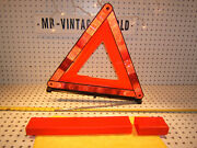 Audi And Volkswagen 1990s In Rear Trunk Geka Safety Oem 1 Triangle And Red Oe 1 Case