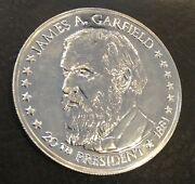 James Garfield President Of The United States Coin Medal