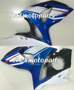 Fit For 2009-2016 Gsxr 1000 Blue Black White Left Right Side Fairing Plastic A13