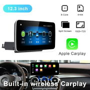For Mercedes Benz C Glc V R Class 2015-2020 12.3 Inch Android Car Gps Navigation