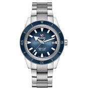 Rado Captain Cook Automatic 42mm Blue Dial Stainless Steel Mens Watch R32105203