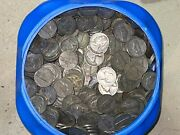 Lot Of 40 War Time Nickels 35 Silver Nickels 2 Face Value 1942-1945 1 Roll