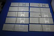 Lot Of 10 Apple A1243 Mb110ll/a Wired Keyboard As Is