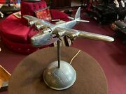 18 Cast Metal Vintage Airplane Lamp Watch Our Video