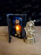 2002 Mcdonalds E.t. Extra Terrestrial Vhs Movie Tape Happy Meal Toy With Statue