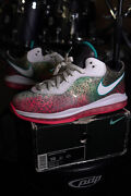 Nike Lebron 8 V/2 Low Miami Night Size 10 100 Authentic South Beach Clean Rare