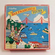 Vintage 90's Schylling Collector Series San Francisco Tours Tin Wind Up Toy