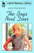The Boys Next Door Linford Romance By Chamberlain Janet Paperback Book The