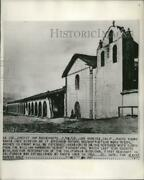1948 Press Photo Santa Ines Mission As It Appeared Before Reconstruction Work