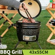 13 Bbq Grill Outdoor Charcoal Braised Oven Garden Barbecue Grill Smoked Furnace