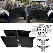Fits Rzr-4 800 2010-2014 And Rzr Xp4 900 2012-2014 Black Bear Claw Doors