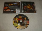 Playstation Ps1 Ps2 Video Game Tiny Tank W Case And Manual Complete Sony Rare