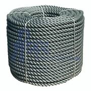 40mm Synthetic Grey Decking Rope X 175m Decorative Garden Rope Balustrade
