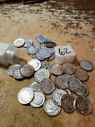 1962 Dime Proof Roll Cut Fresh From Mint Cello 50 Coins 1003 Price Drop