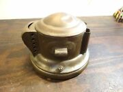 Vintage 1900and039s Brass Edmunds And Jones Headlamp - For Parts Or Restore T413