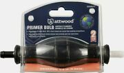 Attwood Universal High Output Primer Bulb 3/8 9.5 Mm 93038lp7 Boat Engine New