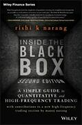 Inside The Black Box A Simple Guide To Quantitative And High Frequency Trad...